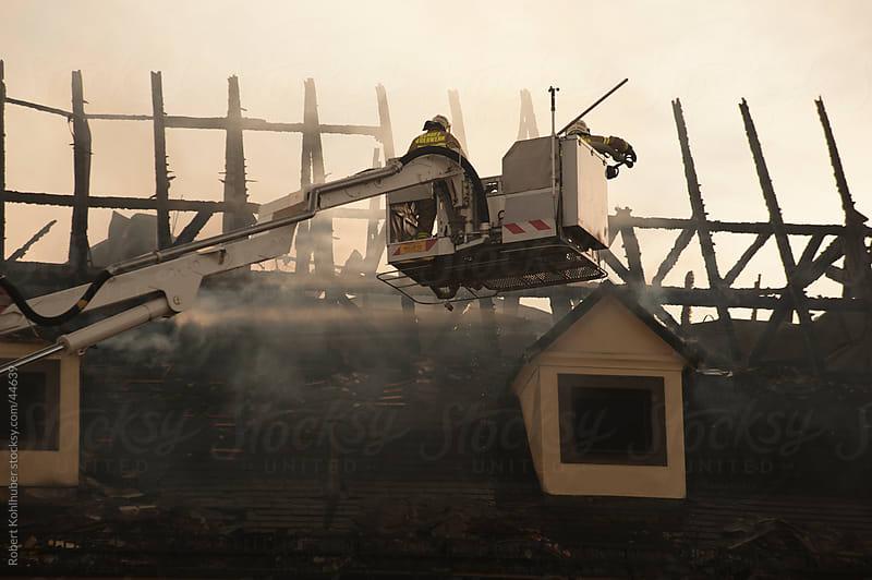 Burning House by Robert Kohlhuber for Stocksy United