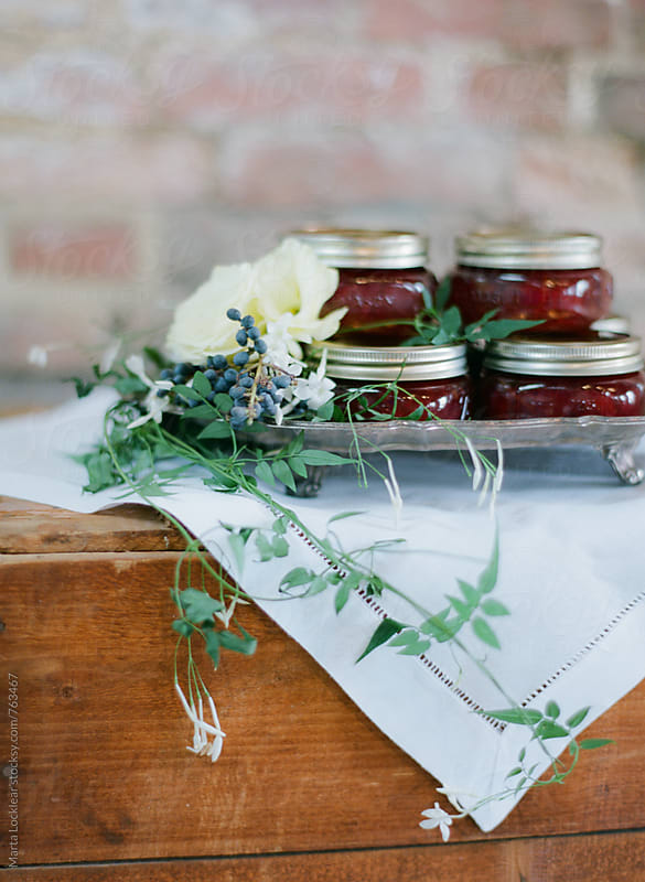 Mini Jars of Preserves by Marta Locklear for Stocksy United