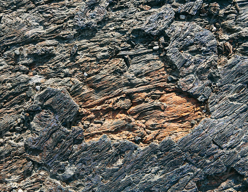 Close up volcanic rock, Craters of the Moon, Idaho, USA by Paul Edmondson for Stocksy United
