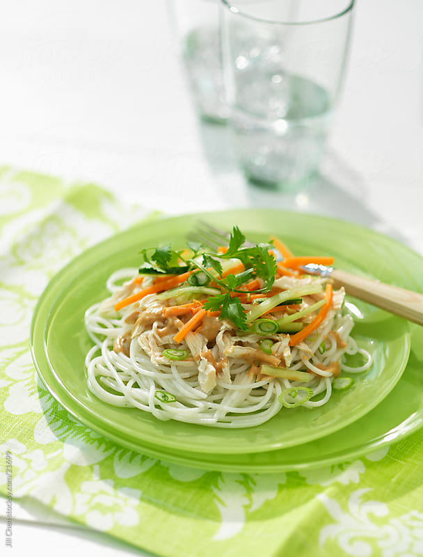Rice Noodles by Jill Chen for Stocksy United