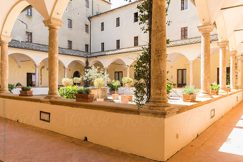 Italian patio by Marilar Irastorza for Stocksy United