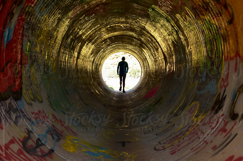 tunnel by Juan Moyano for Stocksy United