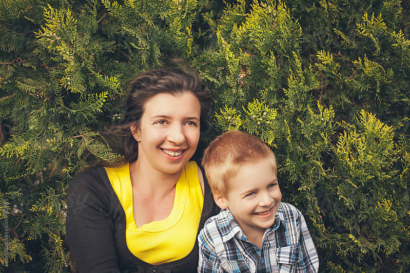 Mother and Son by Lumina for Stocksy United