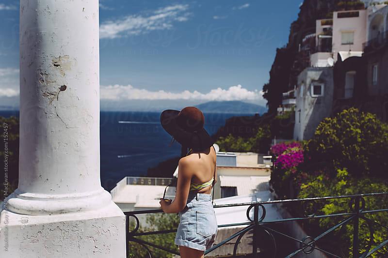 European Island Girl by Maximilian Guy McNair MacEwan for Stocksy United