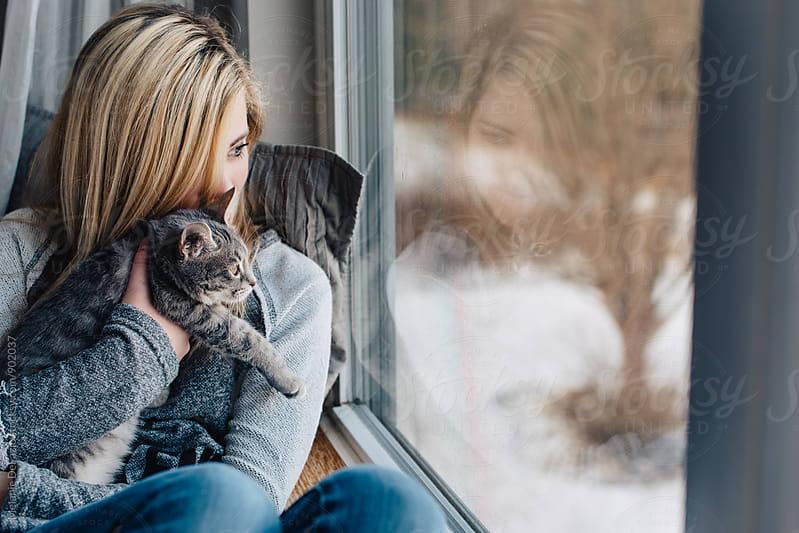 kitty by Melanie DeFazio for Stocksy United