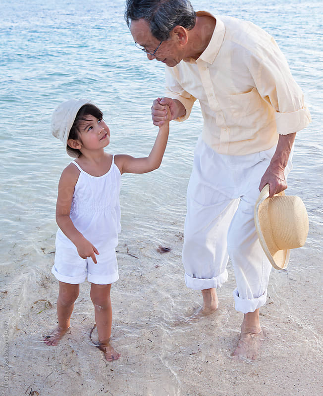 Loving Grandfather by Jill Chen for Stocksy United