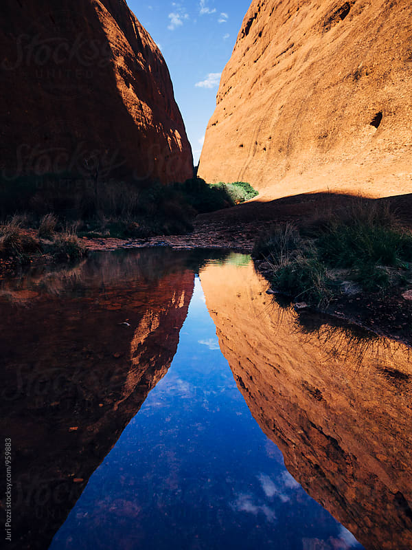 Walpa Gorge in the Northern Terrotory in Australia by Juri Pozzi for Stocksy United