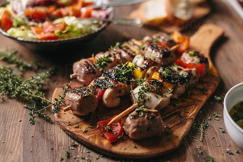 Beef Kebab by Davide Illini for Stocksy United