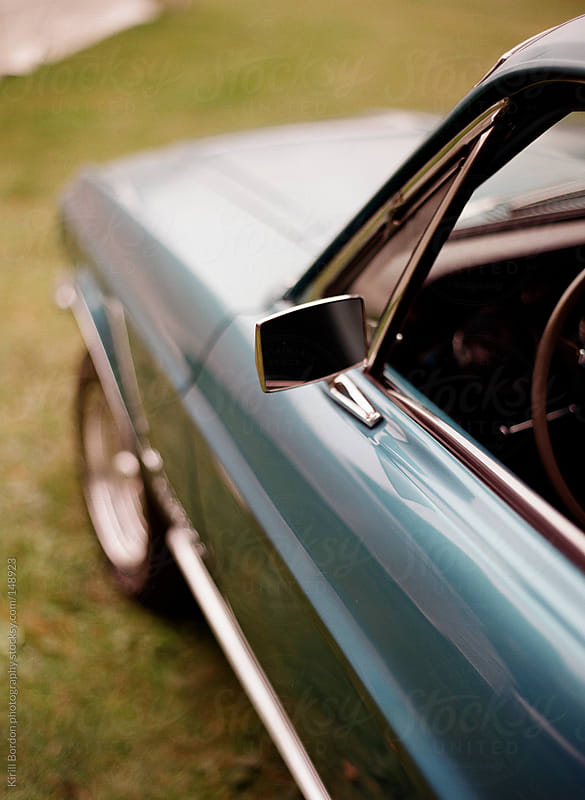 vintage sports car by Kirill Bordon photography for Stocksy United