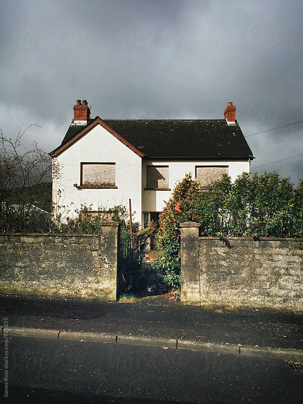 An abandoned and derelict house by James Ross for Stocksy United