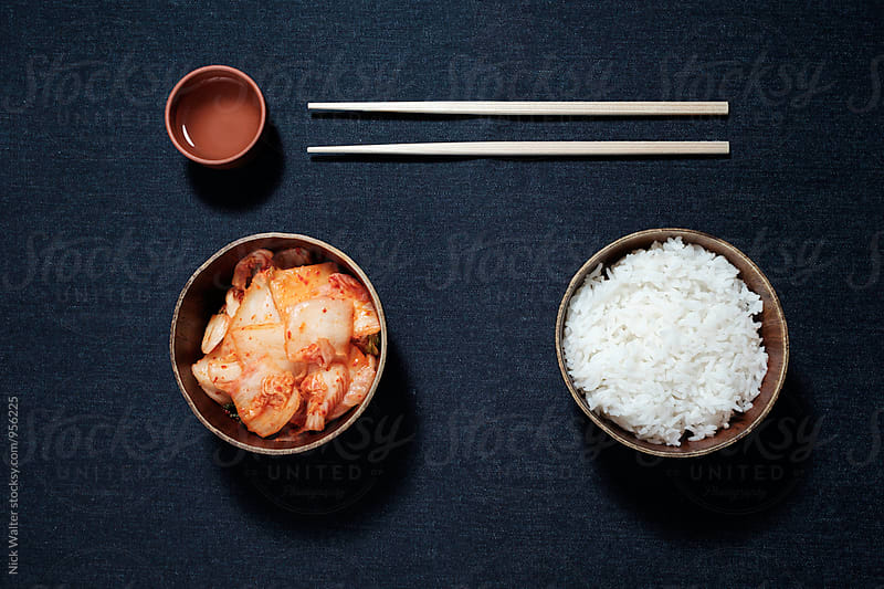 Rice & Kimchi by Nick Walter for Stocksy United