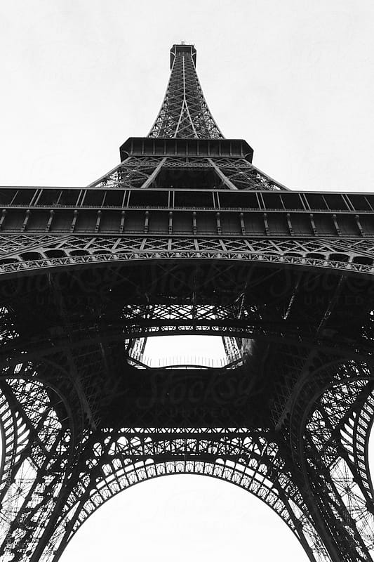 Eiffel Tower-Paris by Zocky for Stocksy United