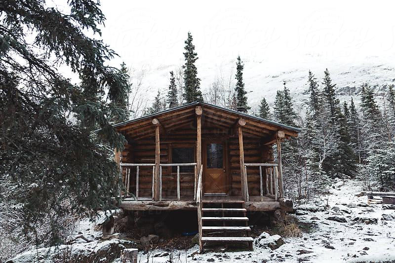 Public Use Cabin Alaska by Jake Elko for Stocksy United