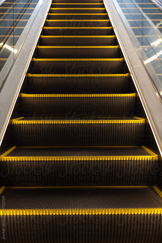 escalator by jira Saki for Stocksy United