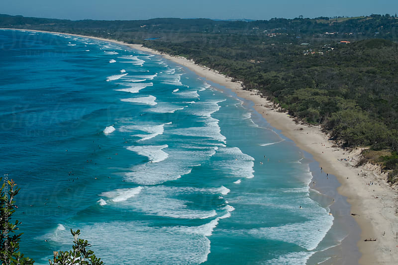 Byron Bay Beach, Australia by Rowena Naylor for Stocksy United