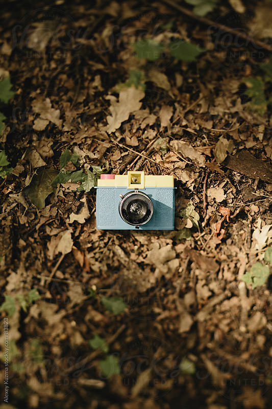 toy camera by Alexey Kuzma for Stocksy United
