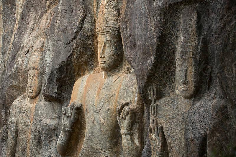 Buduruwagala Rock Carvings by Felix Hug for Stocksy United