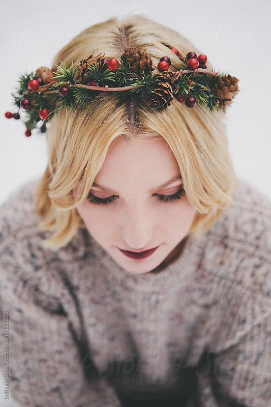 Holiday Crown by Bethany Olson for Stocksy United