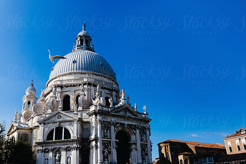 Santa Maria Della Salute Church Venice Italy by HEX . for Stocksy United