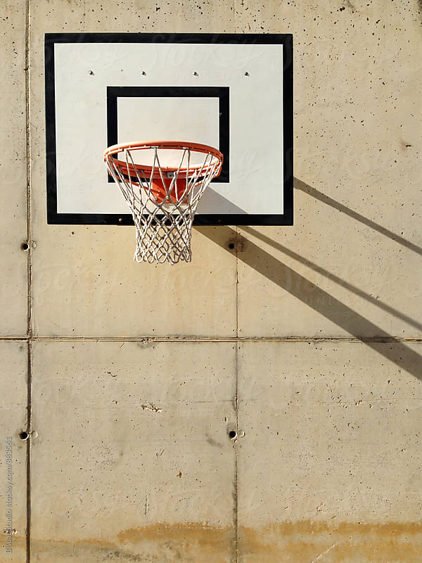 Basketball Hoop by Bisual Studio for Stocksy United