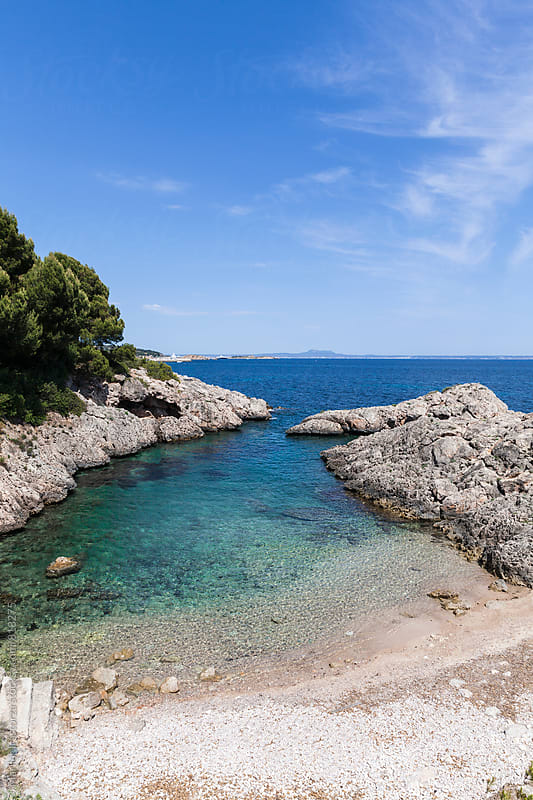 Beautiful cove in Majorca by Marilar Irastorza for Stocksy United