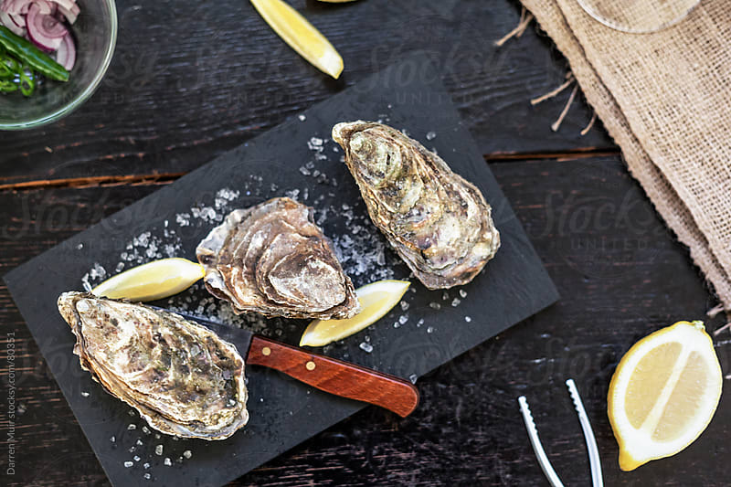 Scottish Oysters  by Darren Muir for Stocksy United
