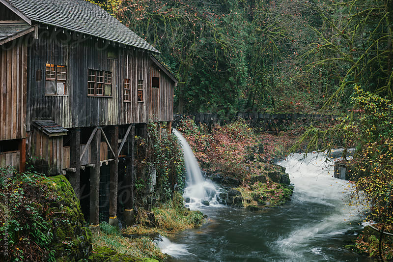 Historical Grist Mill by Shelly Perry for Stocksy United