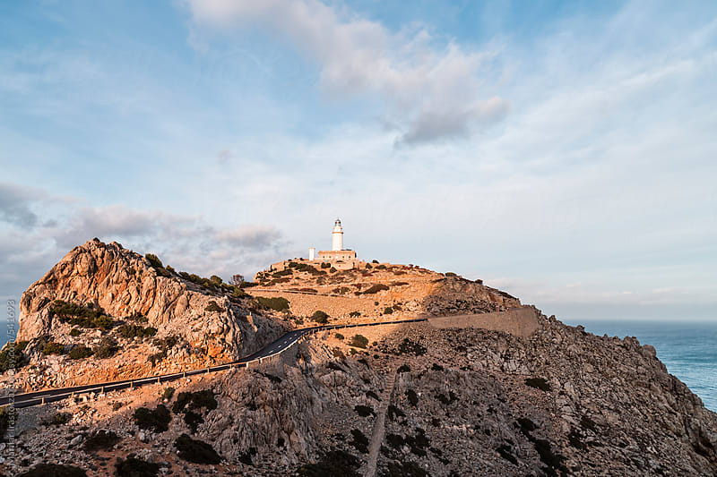 Lighthouse of Formentor by Marilar Irastorza for Stocksy United