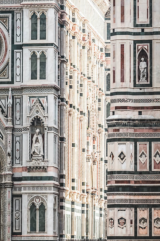 Light Games on the Cathedral of Florence by Giorgio Magini for Stocksy United