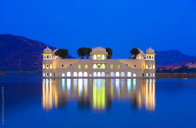 The floating Palace. Jaipur. Rajasthan. India by Hugh Sitton for Stocksy United