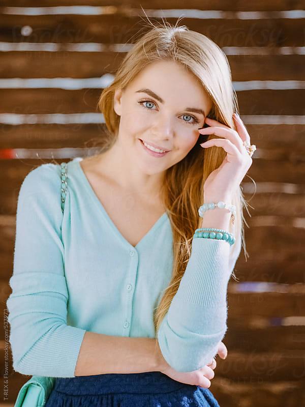 Portrait of a beautiful girl.  by Danil Nevsky for Stocksy United