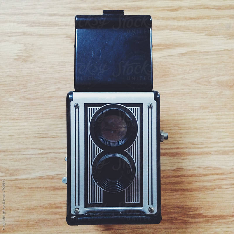 Vintage film camera by Greg Schmigel for Stocksy United