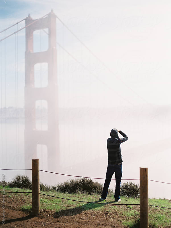 Tourist in San Francisco by Kristopher Orr for Stocksy United