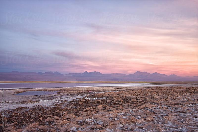 Dusk in the Atacama Desert by Jon Attaway for Stocksy United
