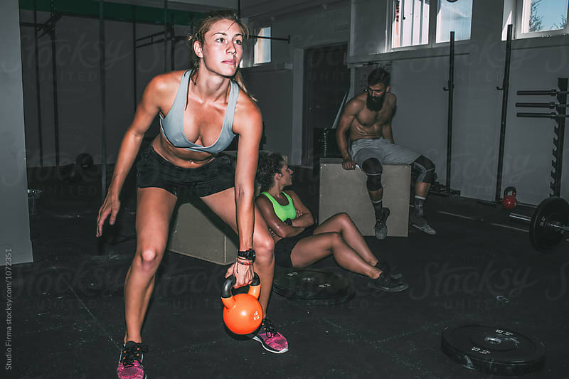 Group Workout in the Gym by Studio Firma for Stocksy United