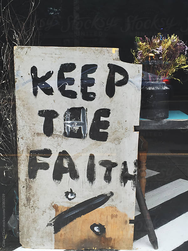 Keep The faith by Gabriel Diaz for Stocksy United