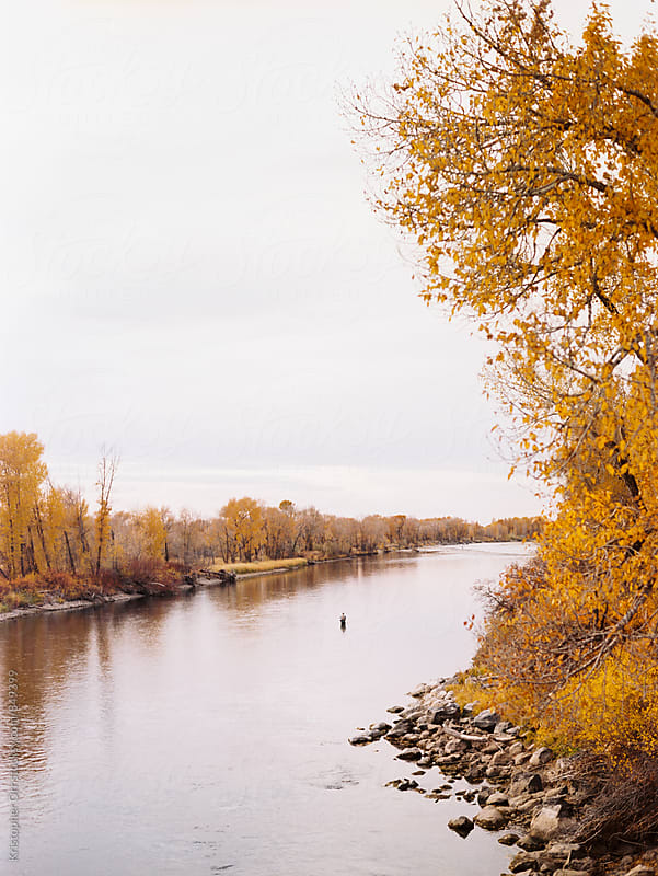 River in Idaho by Kristopher Orr for Stocksy United