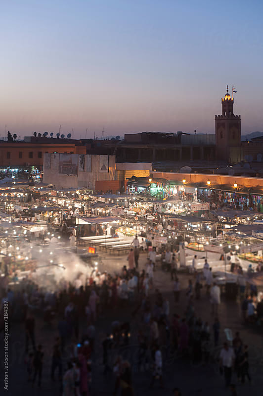 Jemaa el-Fnaa by Anthon Jackson for Stocksy United