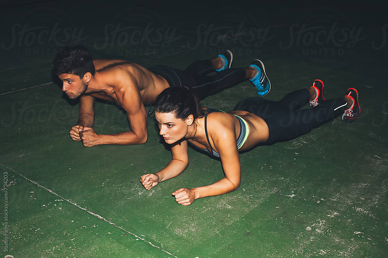 Late Night workout. by Dijana Tolicki for Stocksy United