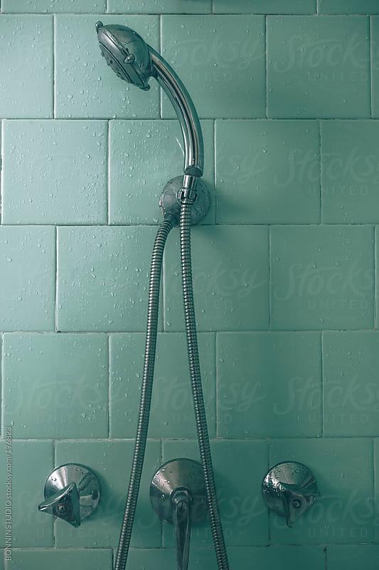 Old shower by BONNINSTUDIO for Stocksy United